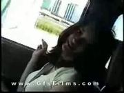 Groping girl, and ripping off her clothes in car