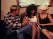 Lois Ayres & Dana Douglas shemale threesome
