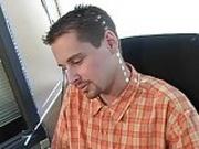 Boss Caught The Secretary Jerking -TB-
