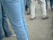 Hot Teen Ass on Jeans