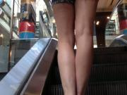 Legs and shorty shorts
