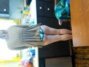 Wife's ass in panties