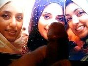 Hijabi sluts getting creamed by me!