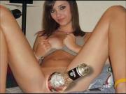 Pussy Filled With Bottles