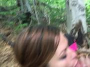 Humiliating teen in woods part 2