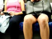 Train Upskirt legs