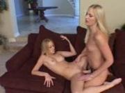 Lesbians Strapon Action