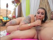 Lovely Exotic BBW Diana Nicole Gets Fucked in Little Havana