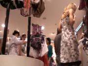 upskirts in victoria secret store