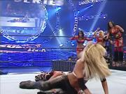 Michelle McCool - Survivor Series 2007 quick Nipple slip