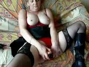 My mature wife masturbating for you. Home made