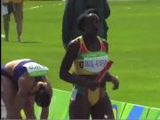 Ebony Black African Track Star Sexy Sway