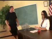 Busty Milf teacher