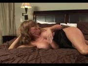 Hot Busty Cougar Passionate Sex