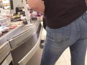 My perfect ass in a german supermarket