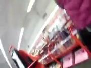 Cumshot on woman in store-Flostylez