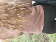 Cum from behind on hair