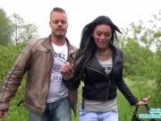 TV Star Bodo dreht spontan Outdoor Porno mit einer Schlampe