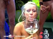 Busty Licky Lex cum covered - German Goo Girls