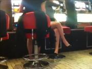Casino Girl Attempted Caused Upskirt