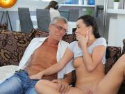 DADDY4K. Dad takes part in spontaneous sex with beauty...