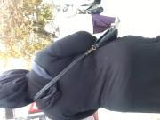 Mature hijab huge ass
