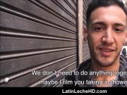 Straight Latino From Venezuela Fucks Gay Guy For Cash POV