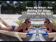 Laura Stirling Taksas Stripper Takes On Tiny Bikinis
