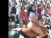 Bubble Butt Bull Ride