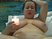 Cam slave hot wax