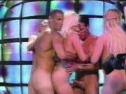 Erotic group striptease on Spanish Television