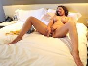 Chesty Yanks Yasmin's Clit Cuddling Vibe