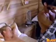 Retro cock lover has hardcore fuck session with his BF