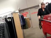 Granny shopping legs