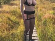 Milf Nude Walk and Flashing in Belgium