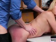 Nubile Gal Alexy Gets Nailed By The Officer