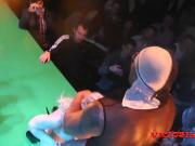 Caroline De Jaie y Maxx Rajoy public fuck on stage