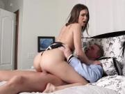 Riley Reid Gets Fucked Hard While Hubby Watches