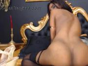 Barely legal Sara with black nipples and big booty