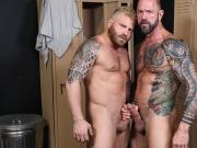 Huge Cocked Older Gym Man Fucks A Bearded One