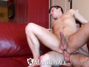 ManRoyale - Frisby fun turns into fuckfest at home