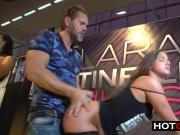 Nacho Big Dick Fucks Amirah In Public