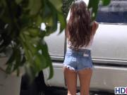 Zaya Cassidy Wet TShirt Car Wash