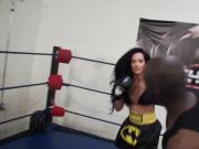 Maria Marley Interracial Mixed Boxing Male vs Female