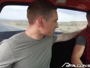 Cute College Boy Blows Hot Daddy Alex Mecum In Pickup Truck