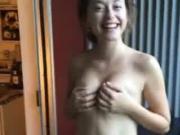 Euro Teen Ex Girlfriend - Boob Shake