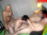 Daddy Fucks Me With Friends
