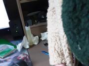 Wanking In Patagonia Sherpa Fleece Jacket Sheepskin Fur Cum