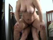 Hot wife Luanne sitting riding first demo