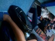 hottie in train